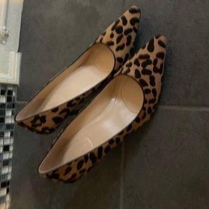 Calvin Klein leopard pony Dolly pumps